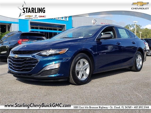 New 2019 Chevrolet Malibu Ls 4d Sedan In Orlando Kf120547