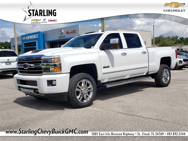 New 2019 Chevrolet Silverado 2500hd High Country 4wd 4d Crew Cab