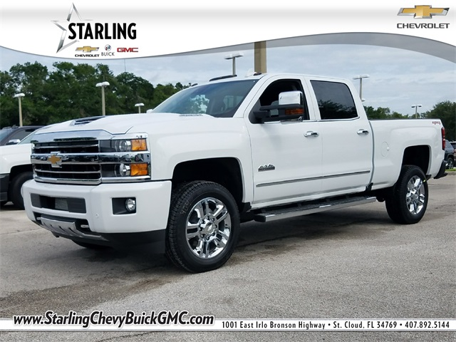 New 2018 Chevrolet Silverado 2500HD High Country 4WD 4D Crew Cab