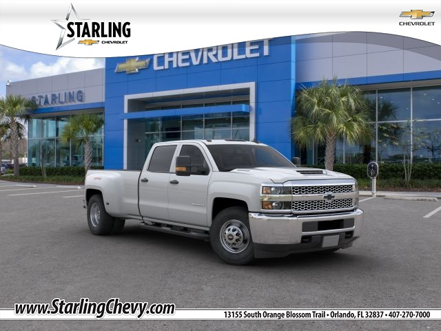 New 2019 Chevrolet Silverado 3500HD Work Truck 4WD 4D Crew Cab