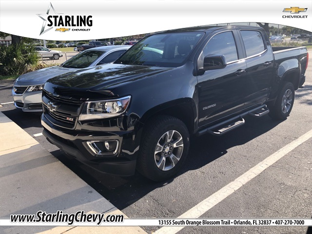 Certified Pre Owned 2018 Chevrolet Colorado Z71
