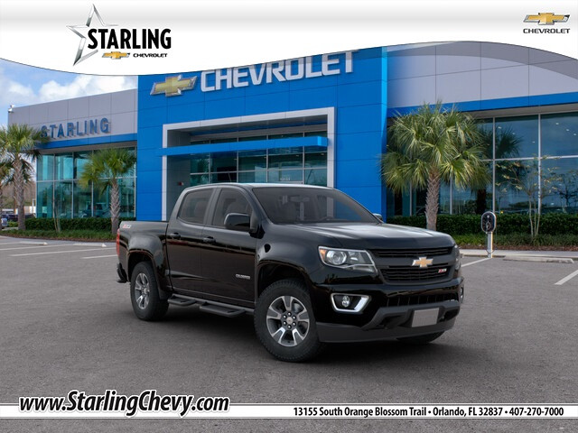 New 2020 Chevrolet Colorado Z71 RWD 4D Crew Cab