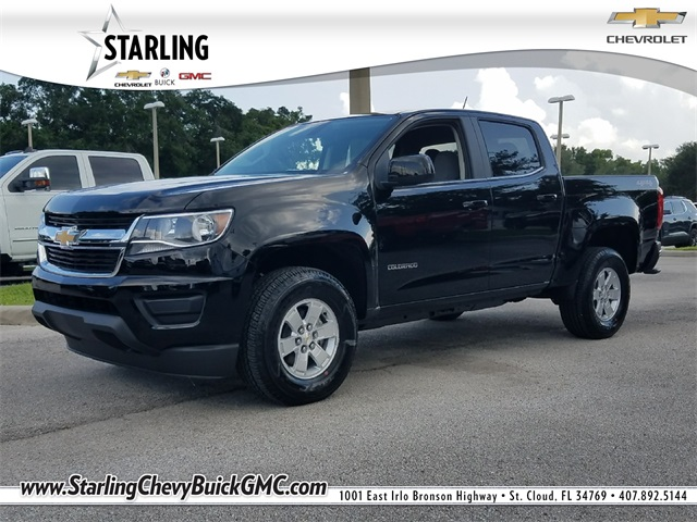 New 2018 Chevrolet Colorado Work Truck 4WD 4D Crew Cab