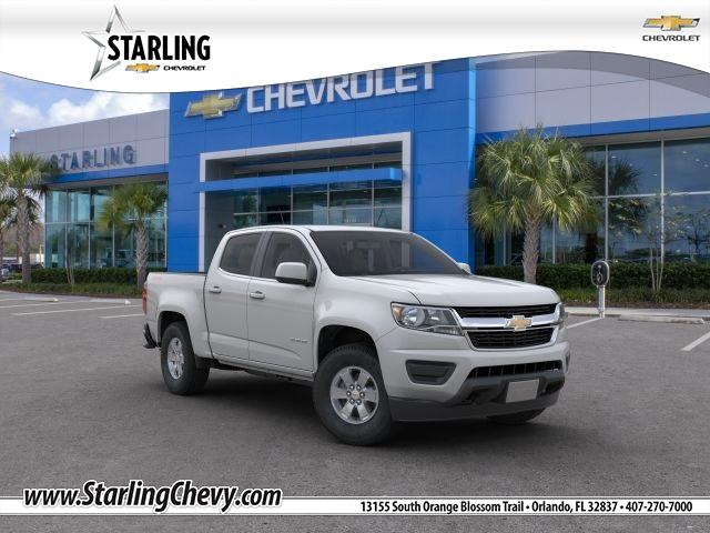 New 2019 Chevrolet Colorado Work Truck 4WD 4D Crew Cab