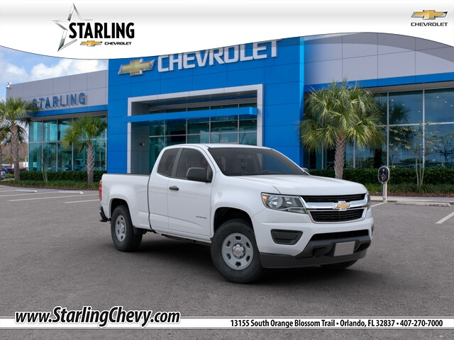New 2020 Chevrolet Colorado Work Truck RWD 4D Extended Cab