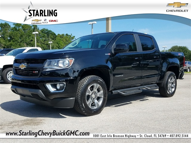 New 2018 Chevrolet Colorado Z71 4WD 4D Crew Cab