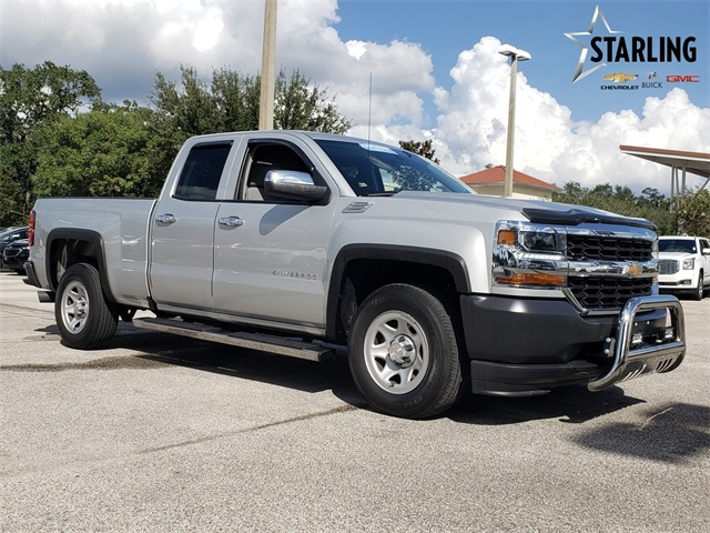 Certified Pre-Owned 2018 Chevrolet Silverado 1500 WT