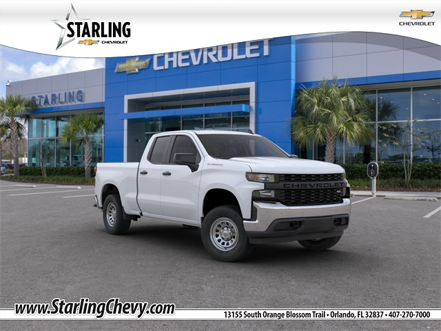 New 2020 Chevrolet Silverado 1500 WT RWD Double Cab