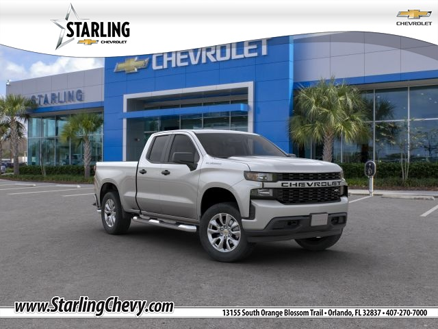 New 2019 Chevrolet Silverado 1500 Custom RWD Double Cab