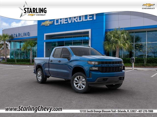 New 2020 Chevrolet Silverado 1500 Custom RWD Double Cab