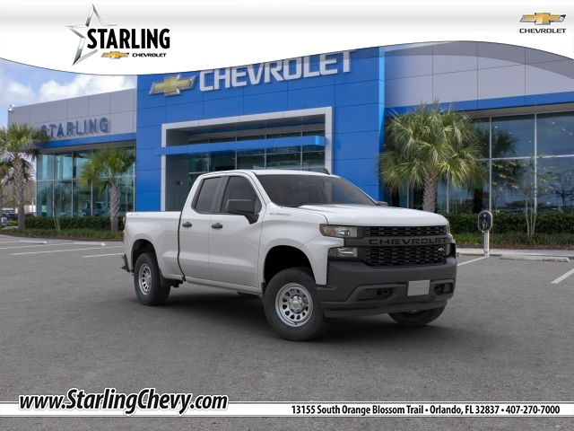 New 2019 Chevrolet Silverado 1500 WT 4WD Double Cab