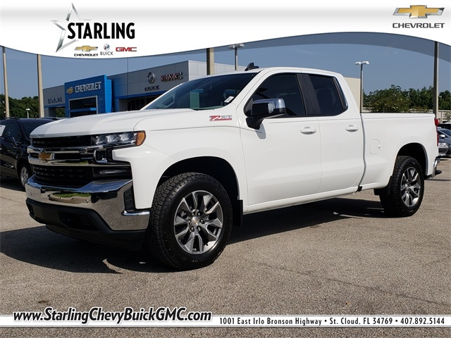 New 2019 Chevrolet Silverado 1500 LT 4WD Double Cab