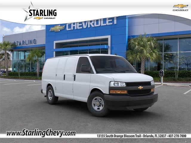 New 2020 Chevrolet Express 2500 Work Van RWD 3D Cargo Van