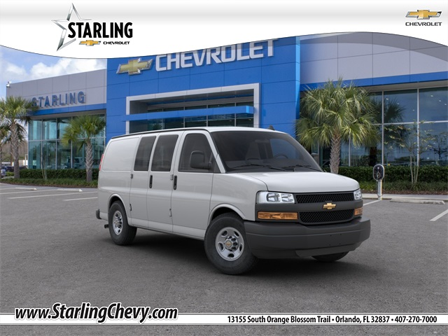 New 2019 Chevrolet Express 2500 Work Van RWD 3D Cargo Van