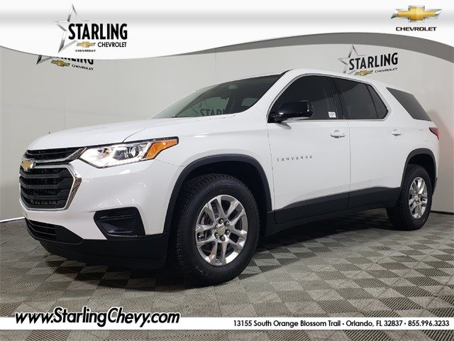 New 2019 Chevrolet Traverse LS FWD 4D Sport Utility