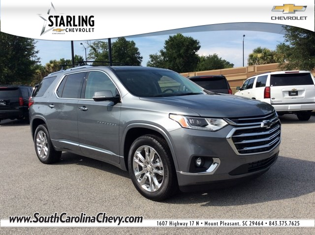 New 2018 Chevrolet Traverse High Country Awd 4d Sport Utility