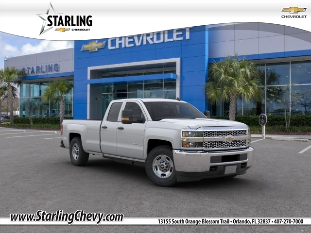 New 2019 Chevrolet Silverado 2500HD Work Truck RWD Double Cab