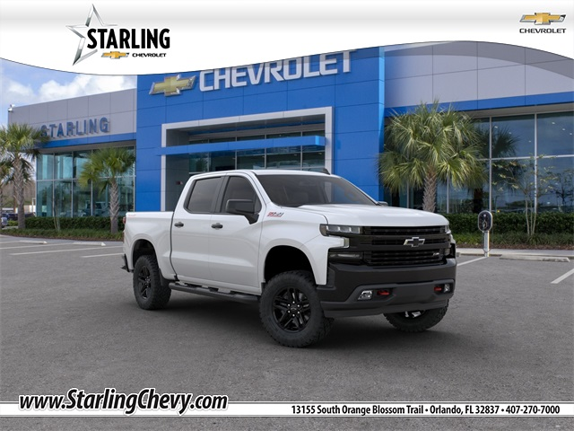 New 2020 Chevrolet Silverado 1500 LT Trail Boss 4WD 4D Crew Cab